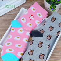 Top quality wholesale soccer socks with aminal cute design