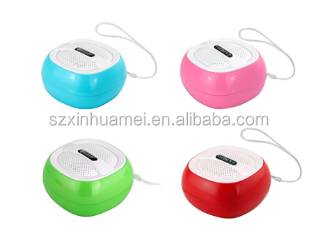 Mini bluetooth speaker with fm radio,TF function , USB and AUX Jack -bt5000