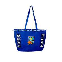 Tote foldable shopping beach bag