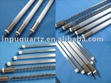 Infared quartz heater elements with milky quartz clear tube (CE certification)