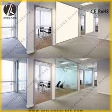 Highly privacy proect, good quality electric smart pdlc film glass window tinted for office apply