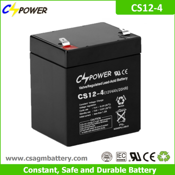Cspower agm 12V 4Ah rechargeable ups battery for Power tools