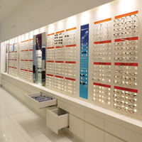 Supermarket eyeglasses racks,solid surface eyeglasses shelf for sale
