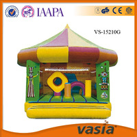 CE certificate kids jumping outdoor inflatable bouncy castle