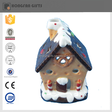 hot sell nice house shaoe fashion ceramic christmas product for home ornament