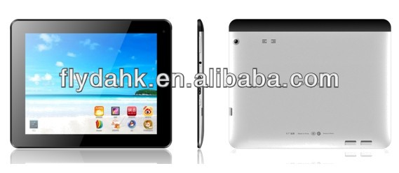 "9.7"" MTK8389 Quad Core 1.2GHz Dual SIM 2G/3G TV Bluetooth GPS Android 4.2 tablet pc AM980"