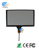 "High Sensitivity Transmittance 9"" separation lcd touch screen glass for PC"