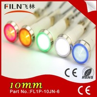 110v red green blue amber white Plastic Diameter 10mm with Terminal bike signal lights