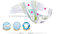 Lucky Baby disposable Diapers nappies for baby High quality