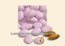Pink Colored Chocolate Covered Almond