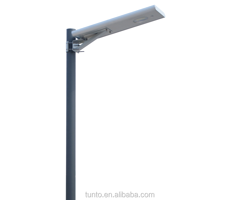 2015 promotion price high quality all in one energy LED soalr panel street lighting with 1500-1650lm 50000hours life time