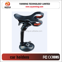universal clip car mobile phone holders on windshield and dash board