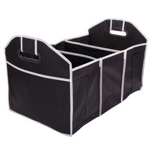 New 3 Section Car Trunk Organizer Folding Cartons Trunk Pouch Kit Storage Box
