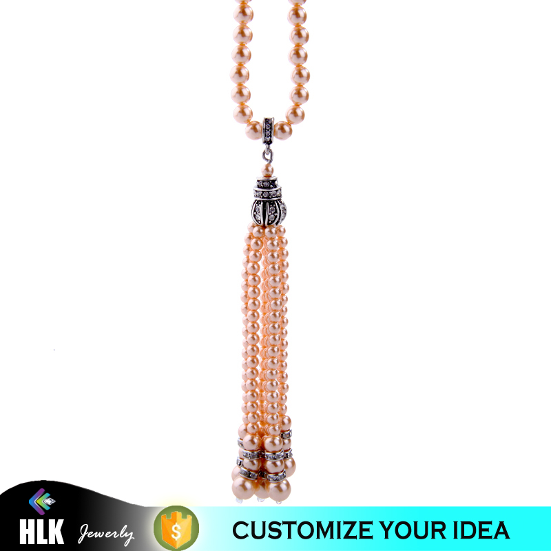 Fashion Design Artifical Pearl Jewelry Pendant Pearl Nacklace for Girls