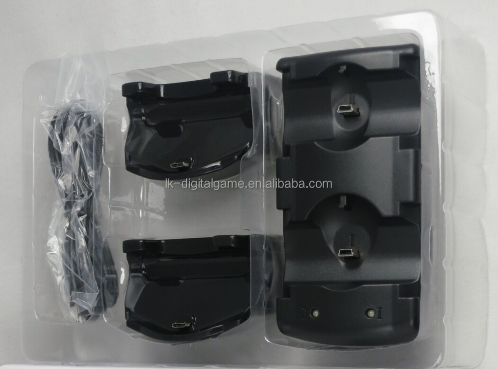 2015 new arrival 3in1 charging station for PS3/PS4 wireless controller and ps3 move controller