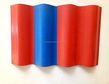 New Year Discount Low Cost glass fibre reinforced plastic pvc/upvc material roof tile
