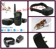 300m Wireless Dog Training System Bark Control Vibration Shock Agile Training Collar with Adjustable Rope P04
