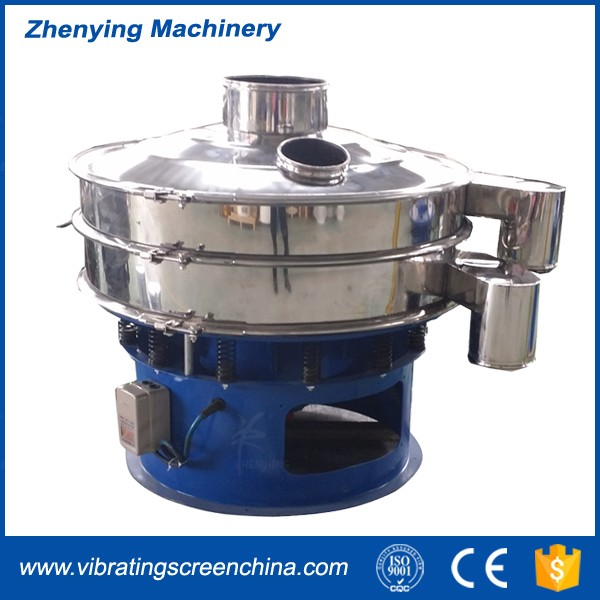 ZYD high frequency graphite powder vibrating screening separator machine