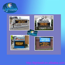 Waterproof P10 DIP outdoor single color led display/outdoor sign Bank/Hotel/Store/DDAD
