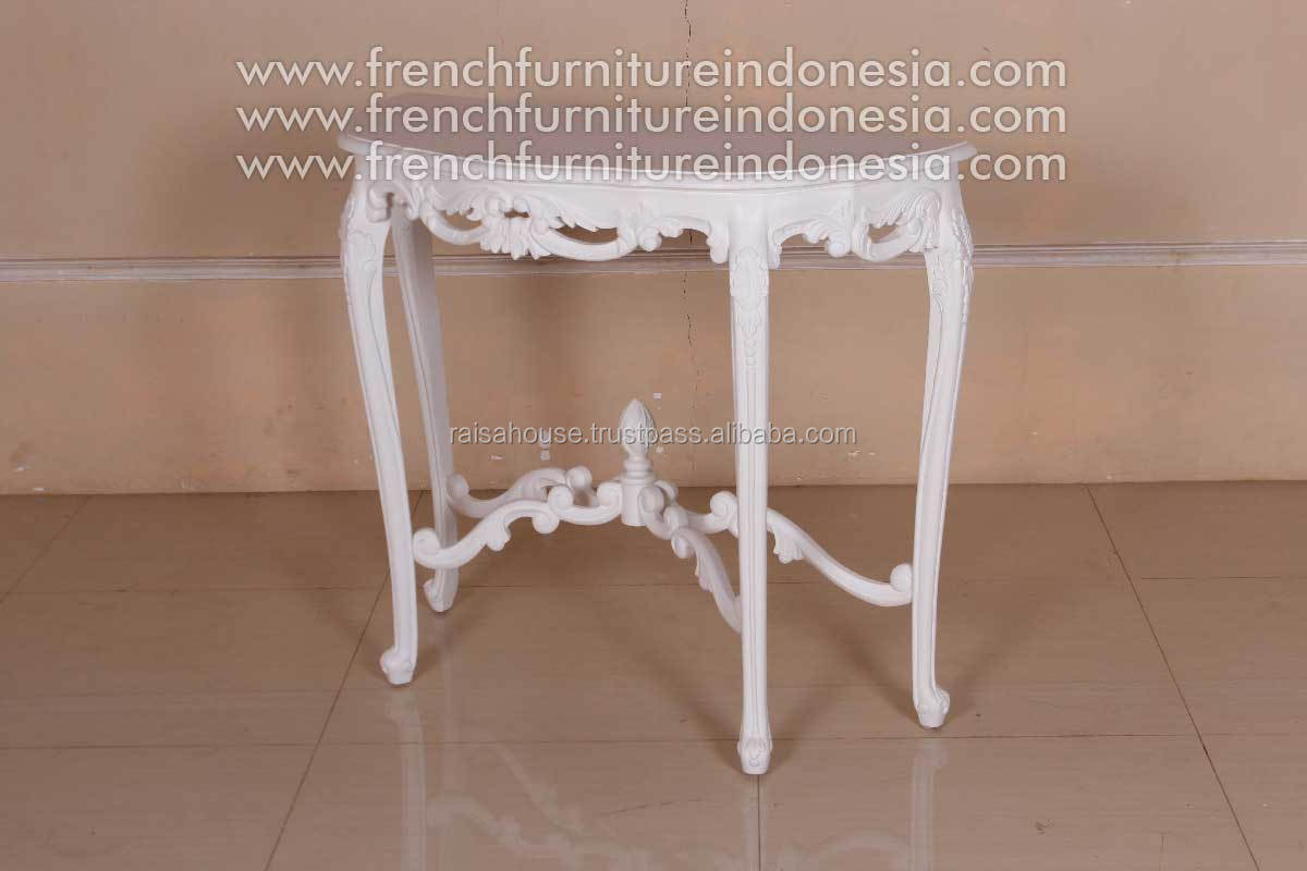 French Furniture - Console Table MDF Top