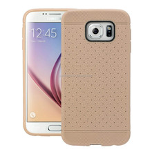 Free Sample Leather Pattern style mobile cover TPU phone case For Sumsung S5/S6