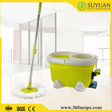 User-friendly cleaning spin mop parts assembly casabella