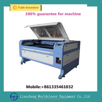 80W 100w Double head 6090 laser cutting engraving machine price