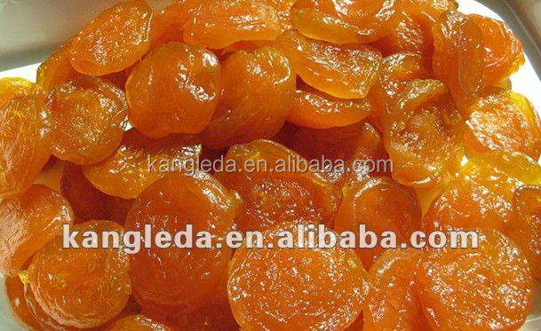 Sweet Preserved and Dried Apricot With Sugar