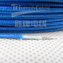 AGRP silicone insulation fiberglass braided electric wire 0.5mm-6.0mm