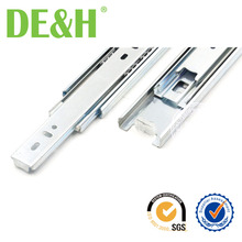 Cold-rolled steel soft close sliding systems for cabinet drawer