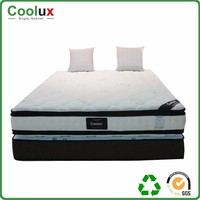raw material for foam luxury memory double bed mattress