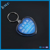 heart shaped acrylic keyring,promotional key chains acrylic