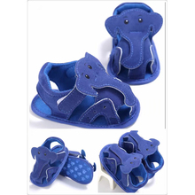 2017 summer newest Soft soled shoes baby boy clothes elephant cartoon baby shoe