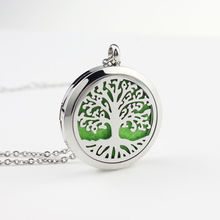 wholesale Aromatherapy Essential Oil Locket Diffuser Necklace