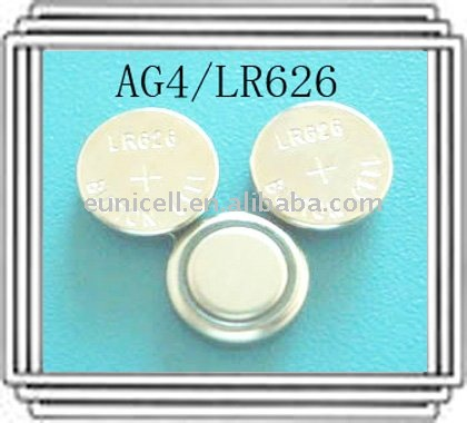 AG4 LR626 1.5V dry cell battery lr626 button batteries used for radio watches toys led products