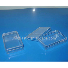 New High Quality Plastic Injection Molded Clear PS Boxes
