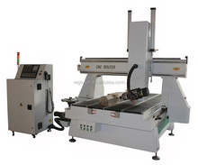 4 axis ATC cnc router with disk tool changer