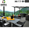 Anti-uv Walkway wpc Flooring outdoor high quality Wood Plastic Composite decking Timber