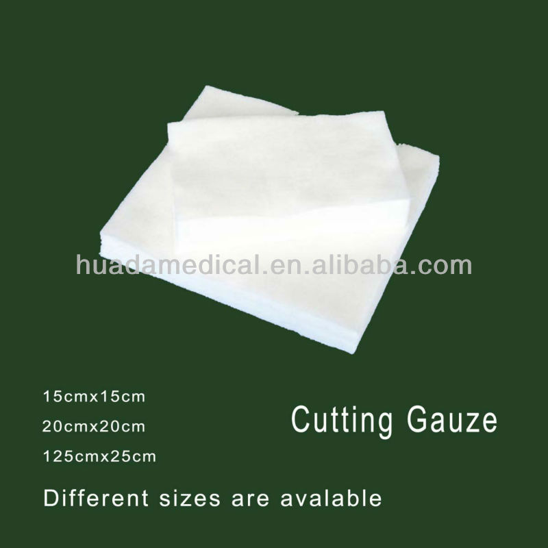 Hot sterile and non-sterile 4inch medical cotton gauze