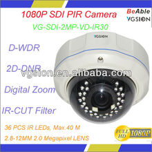 1080P Best IR HD SDI Camera with Motion Detection, Intelligent IR Function, Digital Zooming