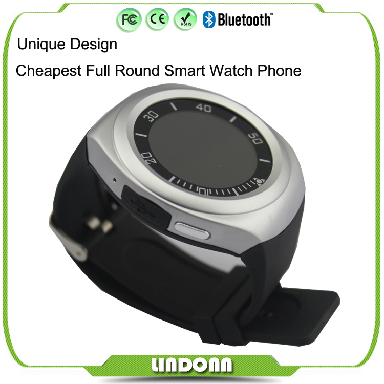Ce Roshs Round Wifi Sport Wrist Camera Bluetooth Bracelet Android Smart Watch Phone with Heart Rate Watch Mobile Phones
