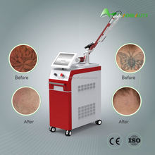 q switched nd yag tattoo removal beauty equipment for sale