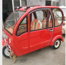2 doors electric tricycle/Cabin Cargo Tricycle/enclosed series electric tricycle