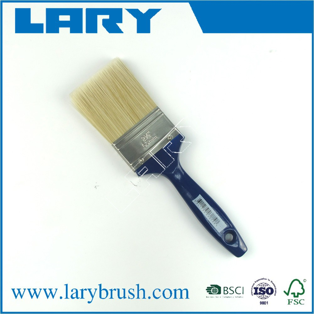 LARY BR2502 monarch oil mixed bristle paint brush with plastic handle