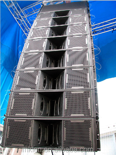 HOT ML-100, attractive neodymium speaker, dual 10 inch passive 4-way line array loudspeaker system