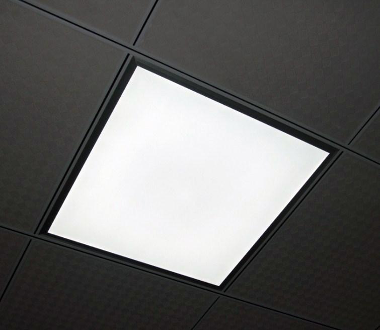 Suspended Ceiling Lights 600mm X 600mm : Led panel surface mount suspended ceiling light