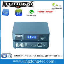 set top box iks and sks digital satellite receiver Magic DE ORO smart tv box for south america
