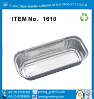 foil containers disposable aluminium foil bakery house bread use aluminum foil small loaf pan cake pan