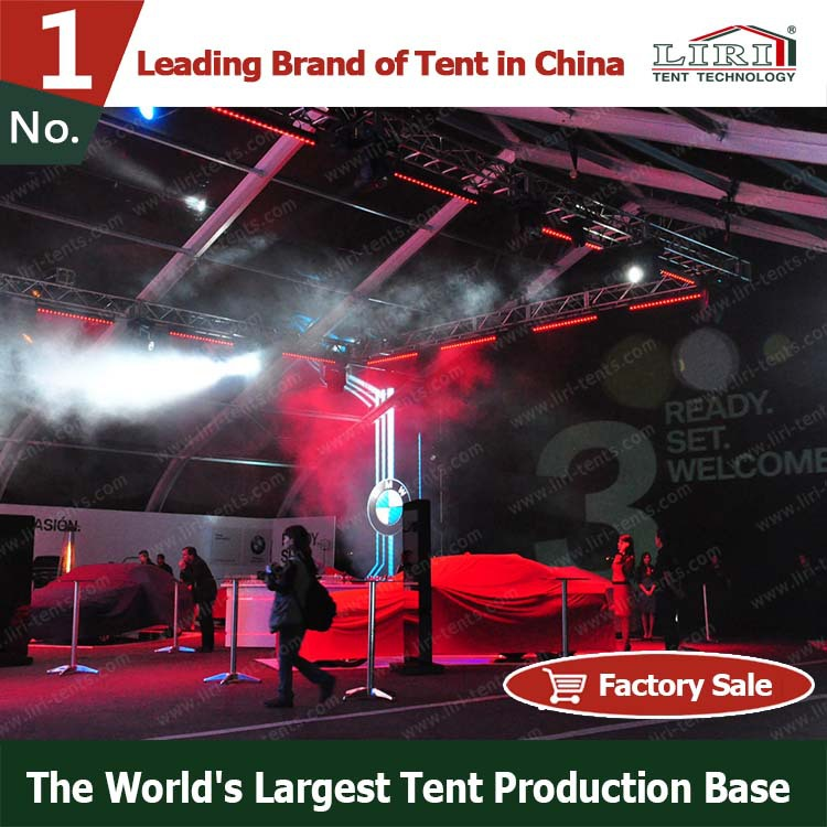 Special big curve stage canopy tent for Sports with longer life span