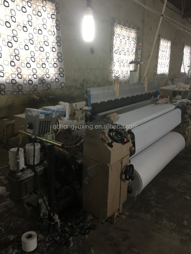 High quality and high speed air jet loom with built-in air pump
